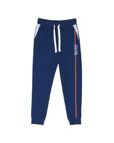 BOSS Bodywear Mens Blue Authentic Stripe Detail Sweatpant