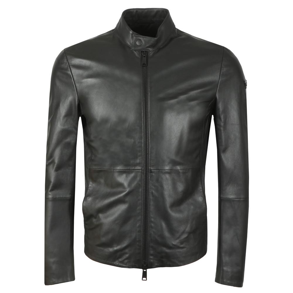 a40bfb6b90 Emporio Armani Leather Blouson