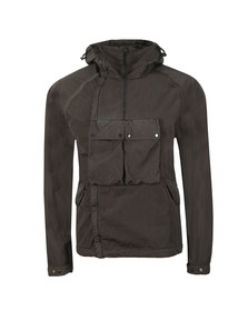 C.P. Company Mens Grey Chrome Re Colour Goggle Jacket