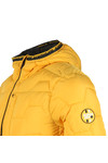 Superdry Mens Yellow Hex Quilt Jacket