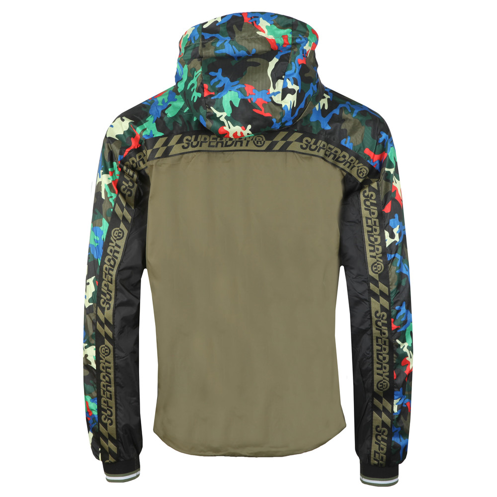 Hawk Colourblock Cagoule main image