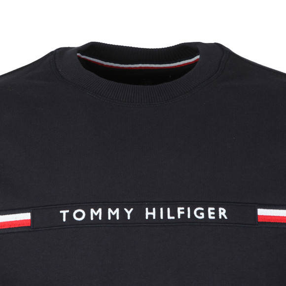 Tommy Hilfiger Mens Blue Tommy Logo Sweat main image