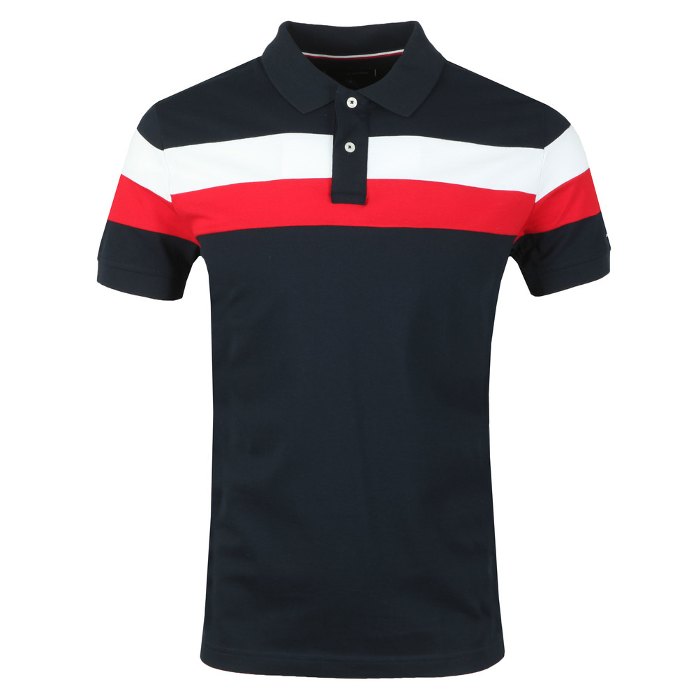 88ed4ae61 Tommy Hilfiger Chest Stripe Polo | Masdings