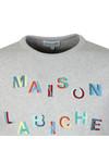 Maison Labiche Mens Grey Carousel Sweatshirt