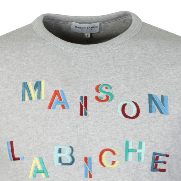Maison Labiche Mens Grey Carousel Sweatshirt main image