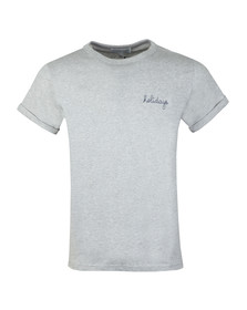 Maison Labiche Mens Grey Holidays T Shirt