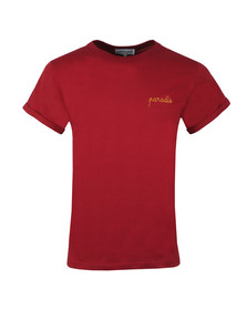Maison Labiche Mens Red Paradise T Shirt