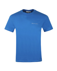 Maison Labiche Mens Blue Bad Boy Heavy T Shirt