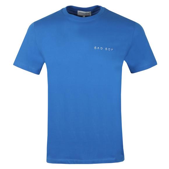Maison Labiche Mens Blue Bad Boy Heavy T Shirt