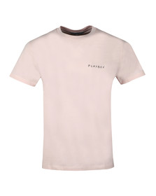 Maison Labiche Mens Pink Playboy Heavy T Shirt