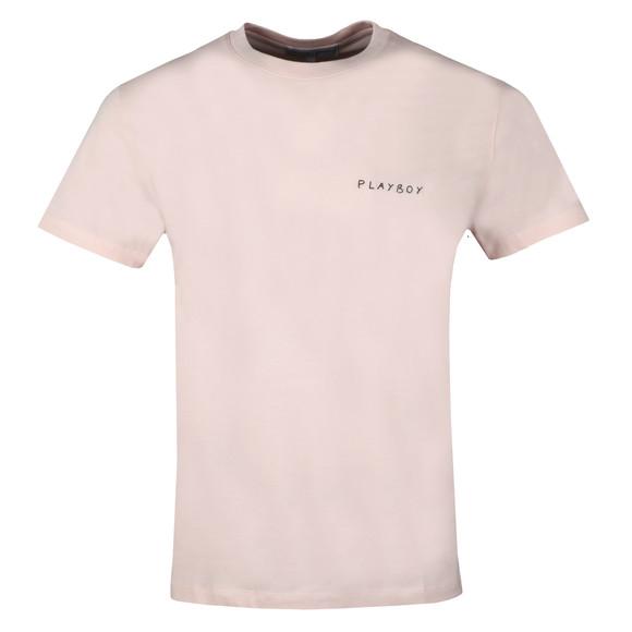 Maison Labiche Mens Pink Playboy Heavy T Shirt main image