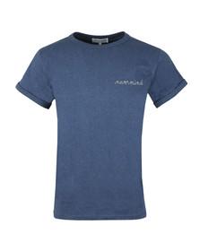 Maison Labiche Mens Blue Nevermind Heavy T Shirt