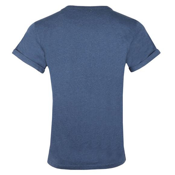 Maison Labiche Mens Blue Nevermind Heavy T Shirt main image