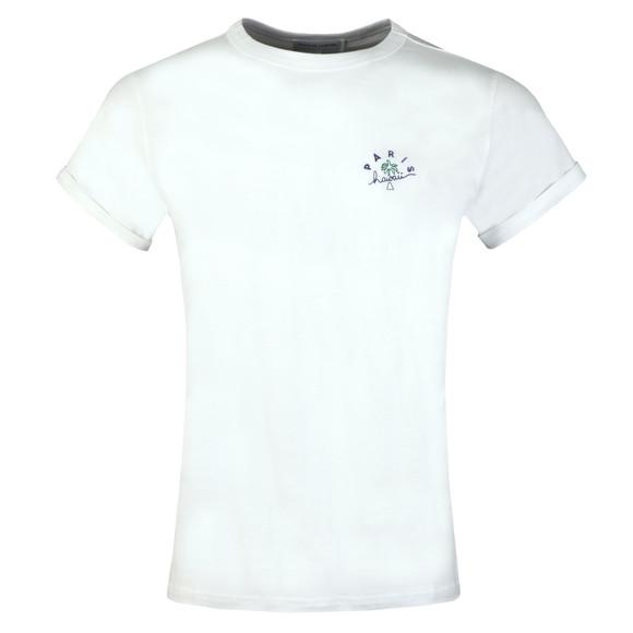Maison Labiche Mens White Paris Hawaii T Shirt main image