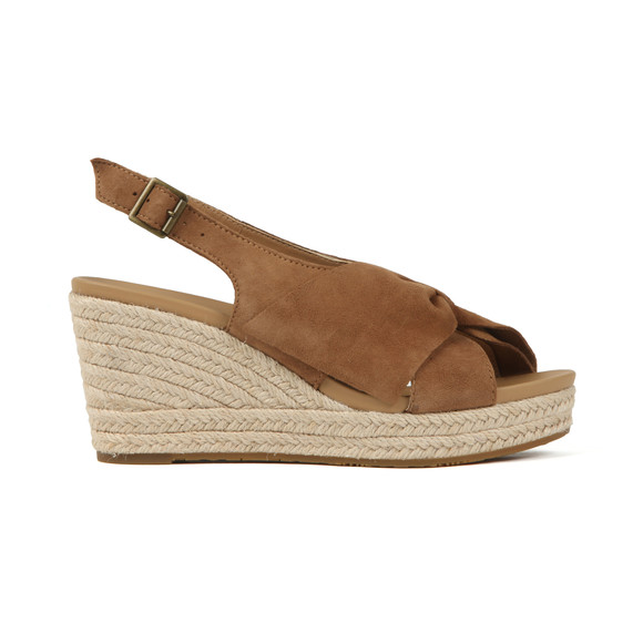 Ugg Womens Brown Camilla Sandal