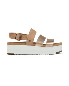 Ugg Womens Metallic Braelynn Metallic Sandal