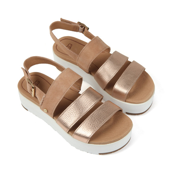Ugg Womens Metallic Braelynn Metallic Sandal main image