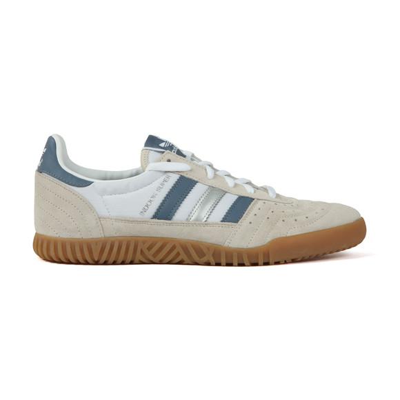adidas Originals Mens White Indoor Super Trainer main image