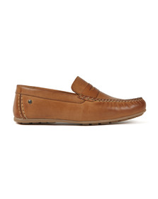Base London Mens Brown Attwood Shoe