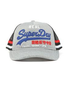 Superdry Mens Grey Premium Goods Cap