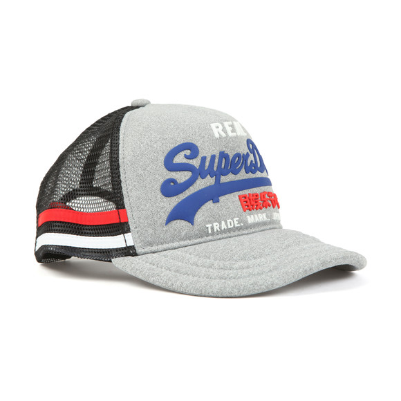 Superdry Mens Grey Premium Goods Cap main image