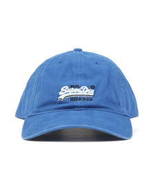 Superdry Mens Blue Wash Twill Cap