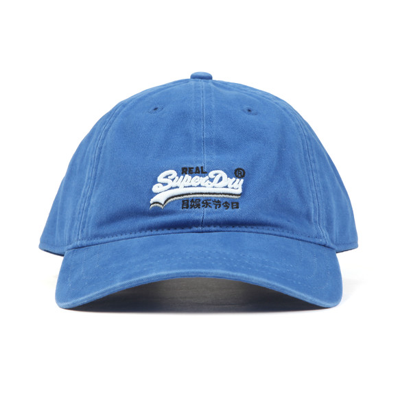 Superdry Mens Blue Wash Twill Cap main image