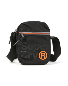 Superdry Mens Black Lineman Super Sidebag