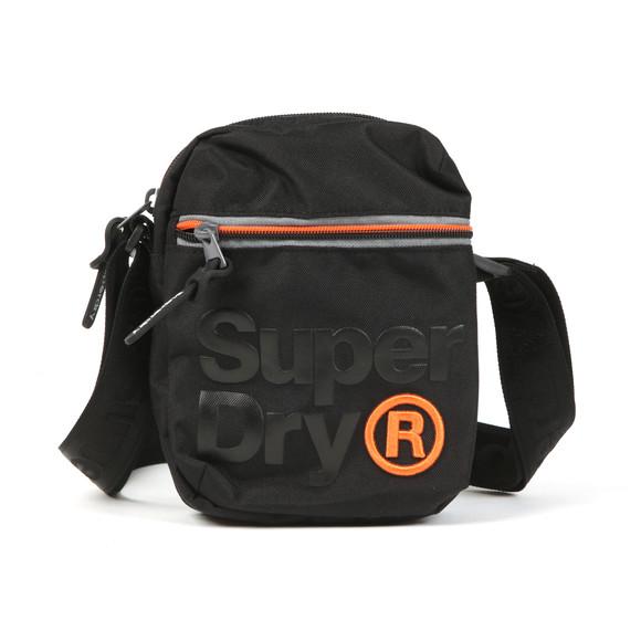 Superdry Mens Black Lineman Super Sidebag main image