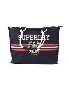 Superdry Womens Blue Amaya Rope Tote