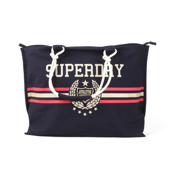 Superdry Womens Blue Amaya Rope Tote main image