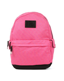 Superdry Womens Pink Jersey Stripe Montana Backpack