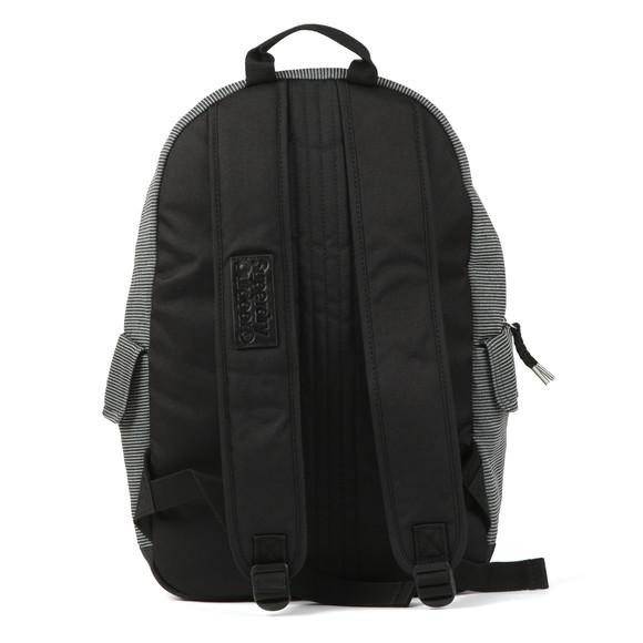 Superdry Womens Black Jersey Stripe Montana Backpack main image