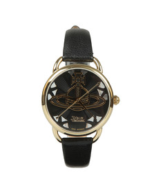 Vivienne Westwood Womens Black Leadenhall VV163BGPK Watch