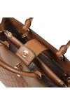 Michael Kors Womens Brown Gramercy Large Satchel