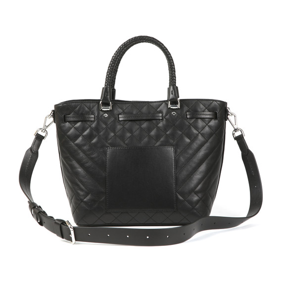 Michael Kors Womens Black Mid Bucket Bag