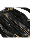 Michael Kors Womens Black Lillie Mid Satchel