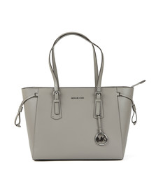 Michael Kors Womens Grey Voyager Mid Tote