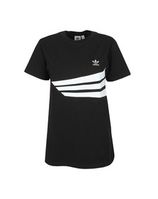 adidas Originals Womens Black Regular T-Shirt