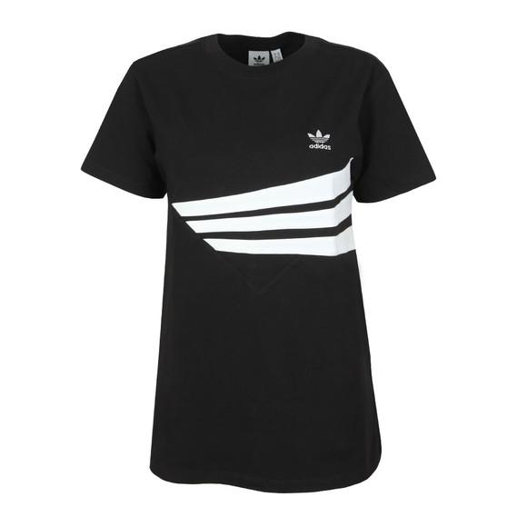 adidas Originals Womens Black Regular T Shirt main image