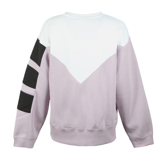 adidas Originals Womens Purple Stripe Sweatshirt main image