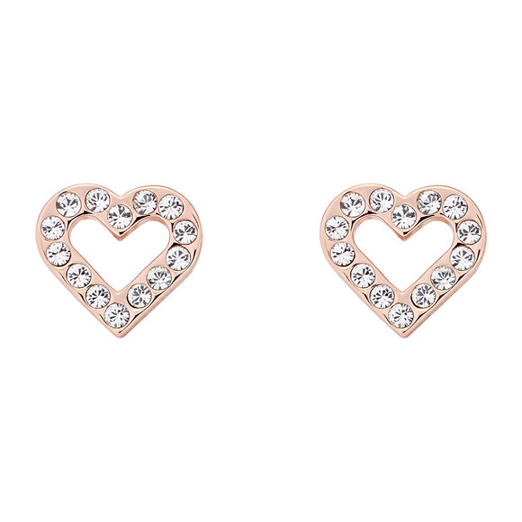 Ted Baker Womens Pink Edesiah Enchanted Heart Stud Earring main image