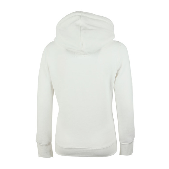 Superdry Womens White Orange Label Elite Ziphood main image