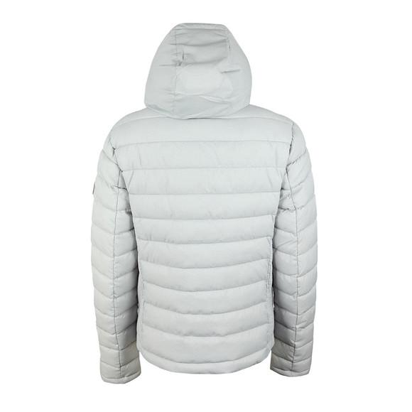 Superdry Womens Grey Fuji Slim Double Zip Hooded Jacket main image