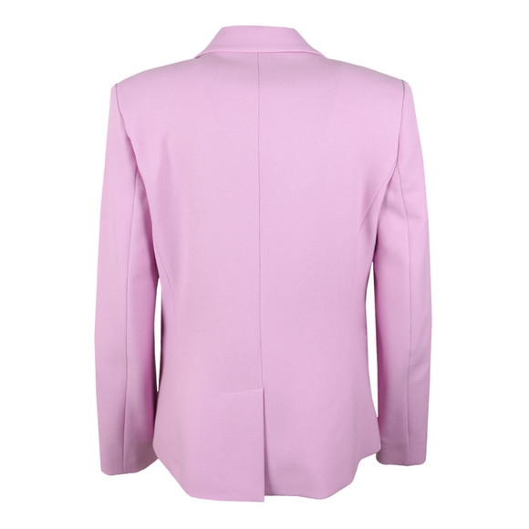 French Connection Womens Pink Sundae Suiting Single Breasted Blazer main image