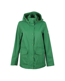Barbour Lifestyle Womens Green Backshore Jacket
