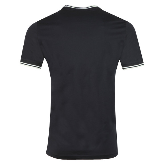 Fred Perry Mens Blue Twin Tipped T-shirt main image