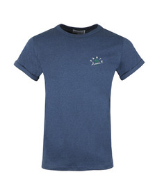 Maison Labiche Mens Blue Paris Hawaii T Shirt