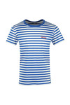 Maison Labiche Mens Blue Holidays T Shirt