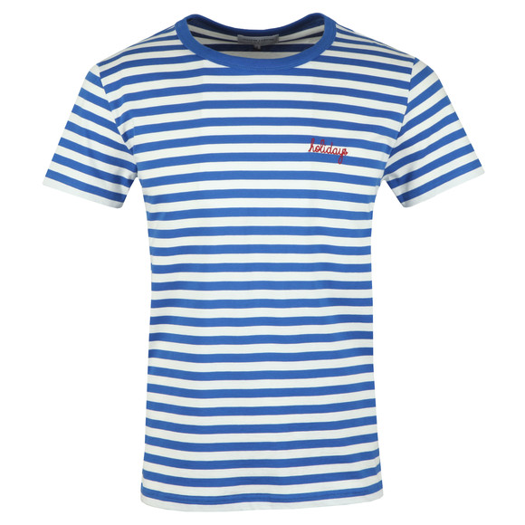 Maison Labiche Mens Blue Holidays T Shirt main image